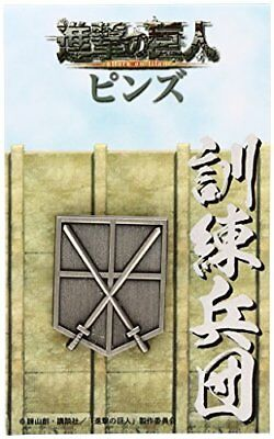 Attack on Titan Pins training corps (japan import)