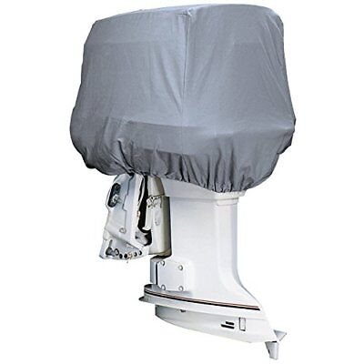 Attwood Silver Coat Polyester Cover f/Outboad Motor Hoo