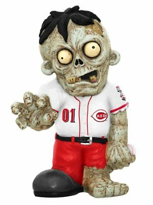 MLB Cincinnati Reds Resin Zombie Figurine, Red