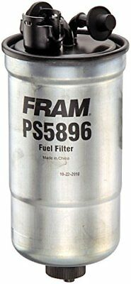 FRAM PS5896 Inline Fuel/Water Separator Canister Filter