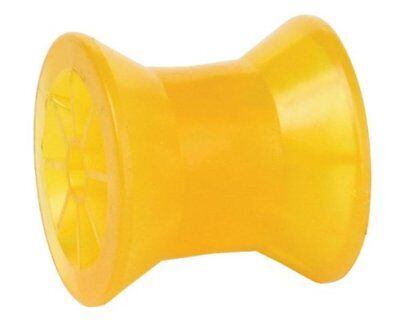 """Tie Down 86289 Amber 3"""" PVC Bow Roller"""