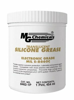 MG Chemicals Translucent Silicone Grease, 1 pint Tub