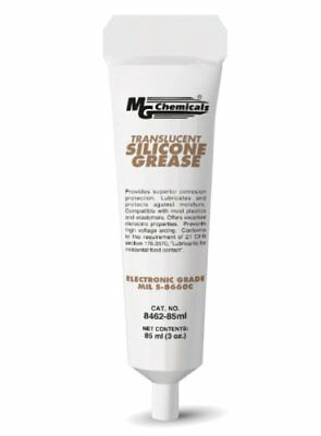 MG Chemicals Translucent Silicone Grease, 85 ml Tube