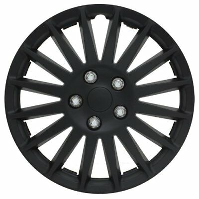 "Pilot Automotive WH521-14C-B All Black 14"" Indy Wheel C"
