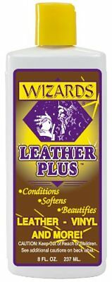 Wizards 66319 Leather Plus Leather Conditioner - 8 oz.