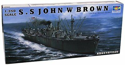 Trumpeter 1/350 Scale SS John W Brown Liberty Ship