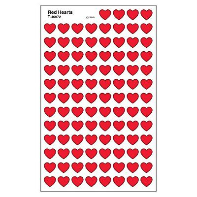 Trend Enterprises Red Hearts Super Shapes Stickers (T-4