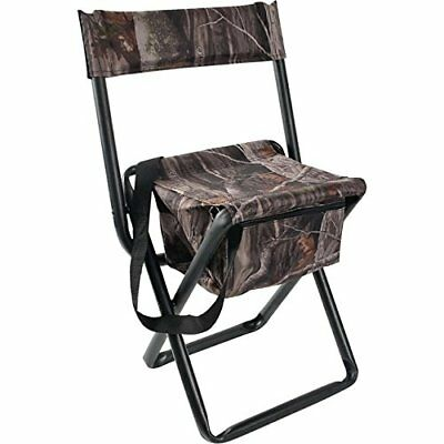 Allen Camo Folding Hunting Stool with Back