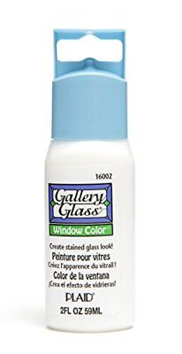 Plaid Gallery Glass Window Color in Assorted Colors (2