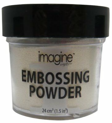 Imagine Crafts 1-Ounce Embossing Powder, White