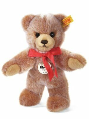Steiff Molly Teddy bear, light brown tipped Plush Bear