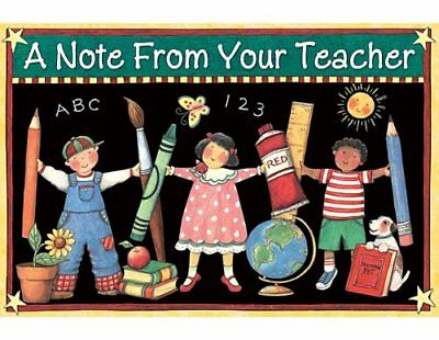 Teacher Created Resources A Note from Your Teacher Post