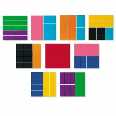 Learning Resources Deluxe Rainbow Fraction Squares