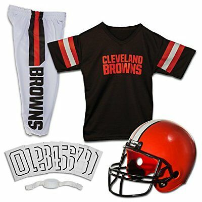 Franklin Sports NFL Cleveland Browns Deluxe Youth Unifo