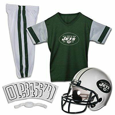 Franklin Sports NFL New York Jets Deluxe Youth Uniform