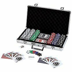 Maxam Poker Chip Set in Aluminum Case (309 Piece)