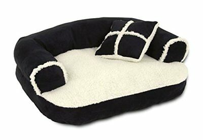 Petmate Aspen Pet Sofa Bed With Pillow, 20 X 16 Inches