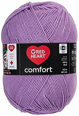 Red Heart Comfort Yarn, Lavender
