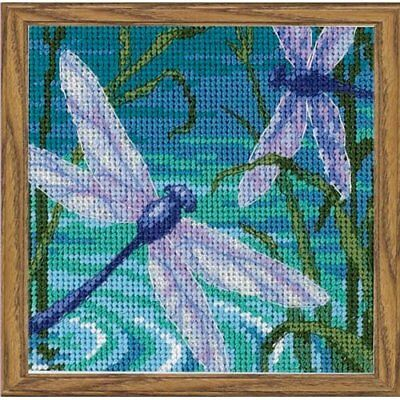 Dimensions Dragonfly Pair Mini Needlepoint Kit