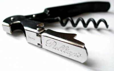 Pulltap's Double-Hinged Waiters Corkscrew, Black and St