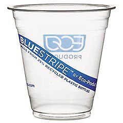 Recycled Content Clear Plastic Cold Drink Cups 9 oz. Cl