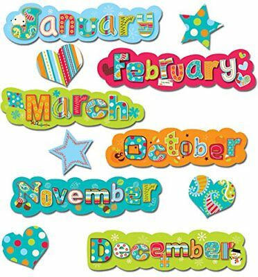 Creative Teaching Press Dots on Turquoise Months of the
