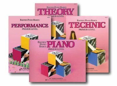 Bastien Piano Basics Primer Level - Learn to Play Four