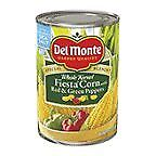Del Monte Fiesta Corn Seasoned with Red & Green Peppers