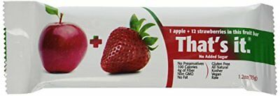 That€™s It Fruit Bars, Apple/Strawberry, 12 Count