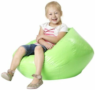 LePouf Jack and Jill Bean Bag Lounge Chair, Lime Green