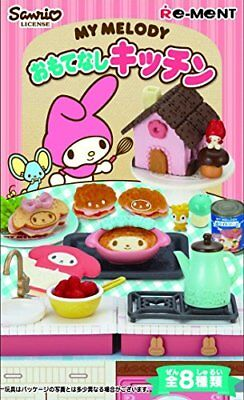 On BOX 8 Pcs My Melody Hospitality Kitchen (Candy Toys