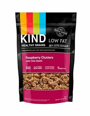 Raspberry Clusters with Chia Seeds 11 Ounces (Case of 6
