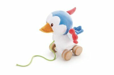Trudi Pull Along Plush Toy, Woodpecker, 9 Months Plus