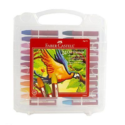 Faber-Castell Blendable Oil Pastels In Durable Storage