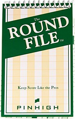 """Golf Round Booklet €"""" Track Score and Important Statis"""