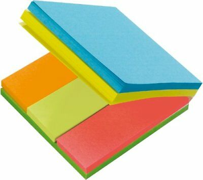 Post-It Notes - 4 Notes in 1 - 4 Colours Yellow, Green,
