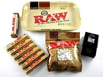 RAW Rolling Tray + 110mm RAW Roller + RAW King Size Rol