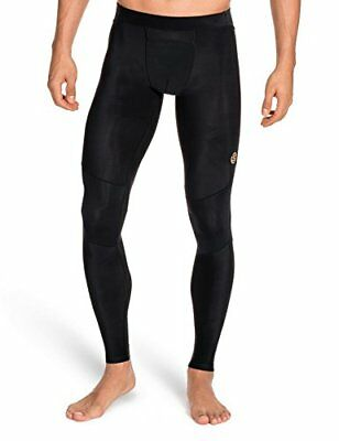 SKINS Men's A400 Compression Long Tights, Black, Medium