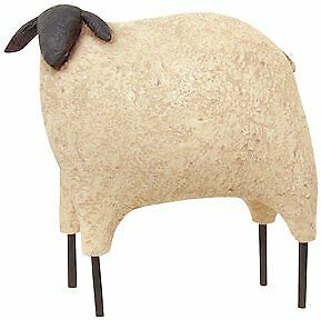 Sheep - Black Faced Large - Primitive Country Rustic