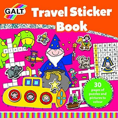 Galt Toys Inc Travel Sticker Book
