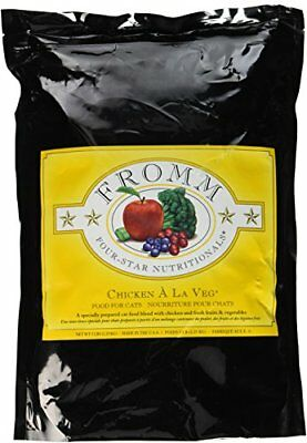 Fromm Four-Star Chicken a La Veg Dry Cat Food, 5-Pound