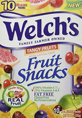 Welch's Tangy Fruit Snacks 9 oz