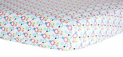 Trend Lab Dot Crib Sheet, Cupcake