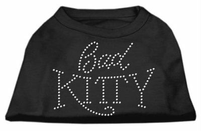 Mirage Pet Products 14-Inch Bad Kitty Rhinestud Print S