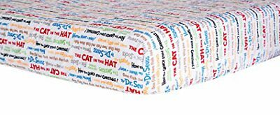 Trend Lab Dr. Seuss Alphabet Seuss Titles Crib Sheet