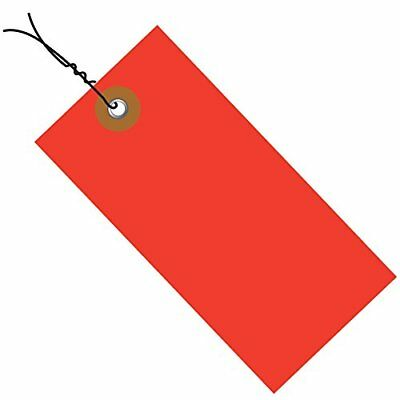 Tyvek G14063D Empty-Eyelet Pre-Wired Shipping Blank Tag