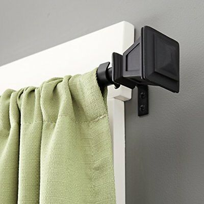 Kenney Seville Window Curtain Rod, 90 to 130-Inch, Matt
