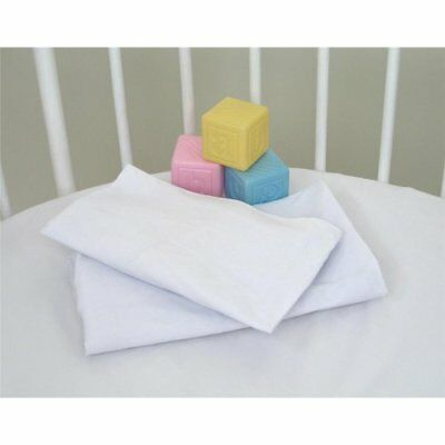 Badger Basket Elite Bassinet Sheets in White - Set of 2