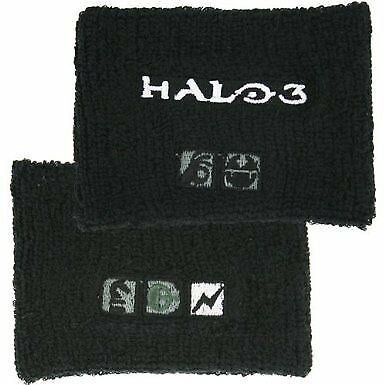 Halo 3 Terry Cloth Wristband Icon Logos