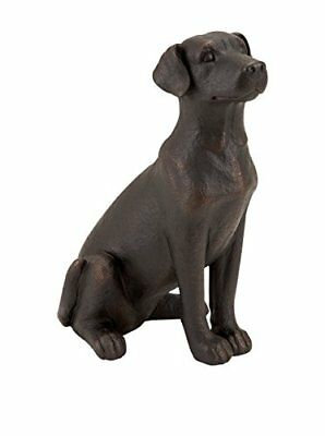 Deco 79 Poly-Stone Dog, 16 by 10-Inch